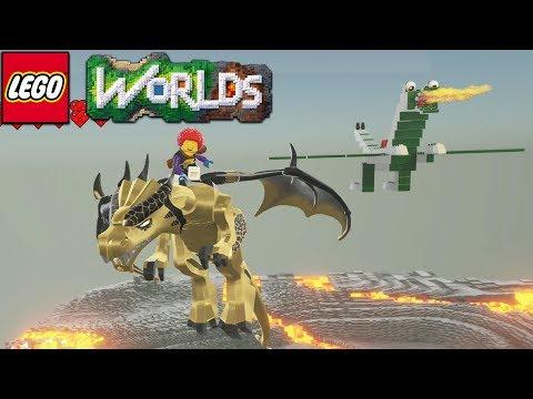 Lego Worlds - My Dragon
