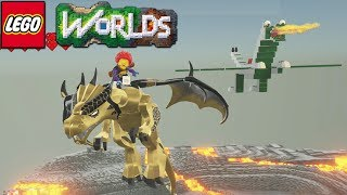 Lego Worlds - My Dragon