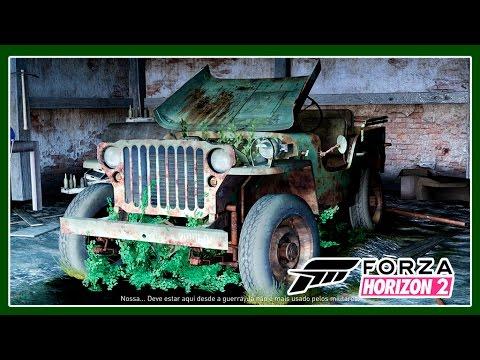 Forza Horizon 2 - Carros Do Celeiro - #3 - Jipe de Guerra