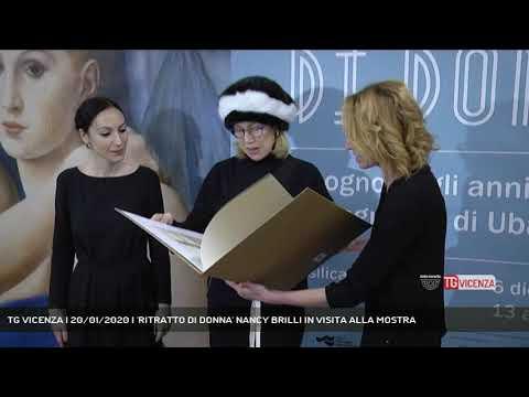 TG VICENZA | 20/01/2020 | 'RITRATTO DI DONNA' NANC...
