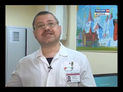 Педиатр ОКБ Ханты-Мансийска Михаил Башкиров