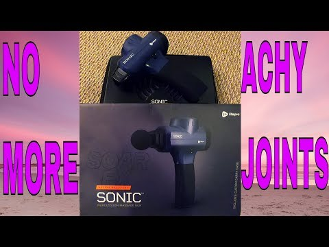 the-ultimate-massage-gun-||-soar-fx-sonic-percussion-massage-gun-review