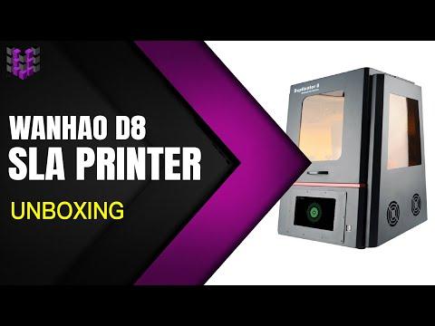 Wanhao Duplicator 8 Mark 1 - SLA 3D Resin Printer - Unboxing