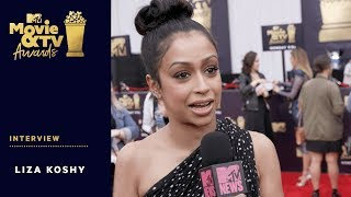 Liza Koshy on Her Breakup With David Dobrik | 2018 MTV Movie & TV Awards