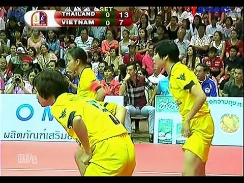 THAILAND - VIETNAM Sepak Takraw King's Cup 2013 Final Match Women's Team (A)