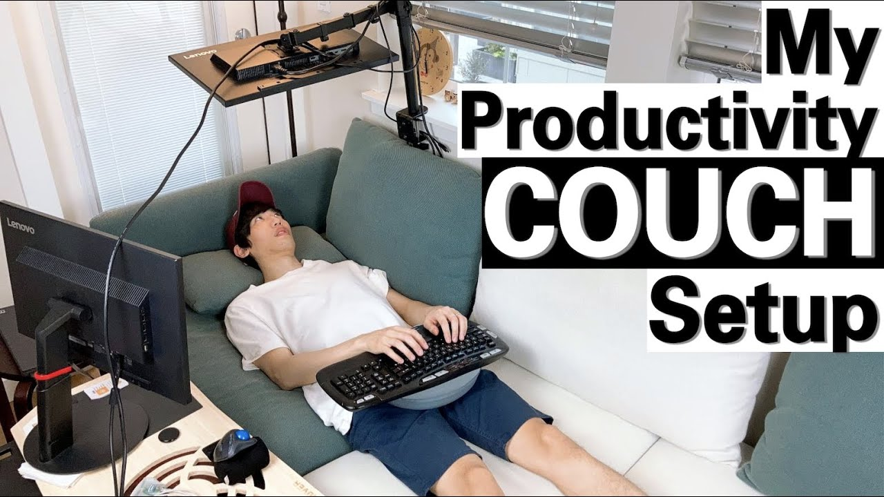 Download WORLD FIRST | My Productivity COUCH Setup | Software Engineer