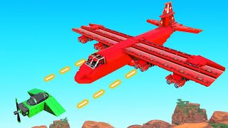 Build The BEST FIGHTER PLANE Challenge! (Trailmakers)
