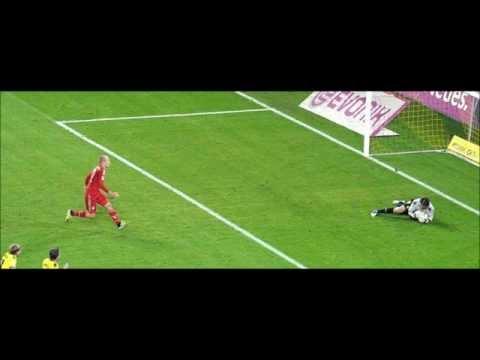 Borussia Dortmund vs Fc Bayern München Net-Radio 1:0 Lewandowski Traum Tor 2012 Spielbericht