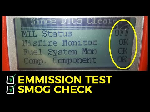 Smog Check Passed - Emission Test - I/M Drive Cycle Ready In 6.4 Miles- EASY SOLUTION