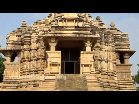 Morning shots of Chitragupta temple, Khajuraho