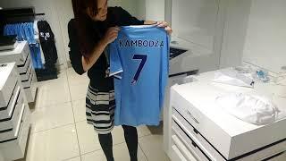 Man City - Mario Van - koszulka - shirt printing