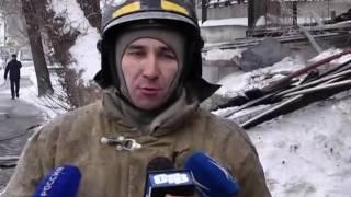 В Самаре рядом с академическим театром драмы сегодня вспыхнул пожар