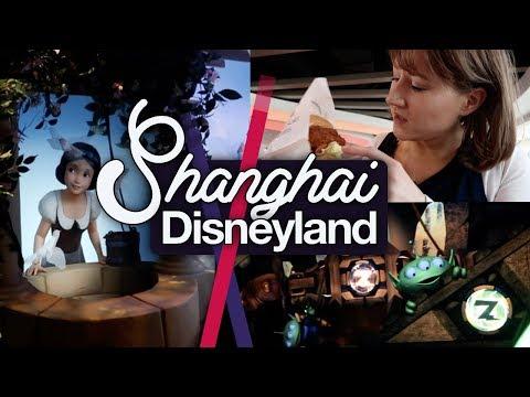 Shanghai Disneyland #4! Buzz, Noms, Merch & a Mega Castle!