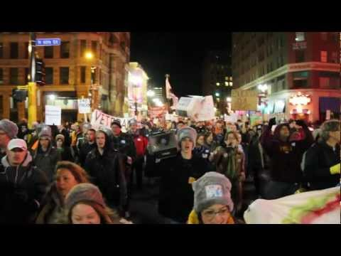 Occupy Minneapolis: #99 Tents for the 99 Percent - Wed Nov 30th