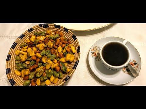 ምርጥ የዳቦ ቆሎ አስራር፡ በተፈጥሮ፡ የተለያዩ፡ የምግብ ክለሮች part 1 Best Ethiopian snack Dabo kolo recipe