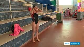 La Rochelle : portrait d'Heidi Levasseur, nageuse canadienne