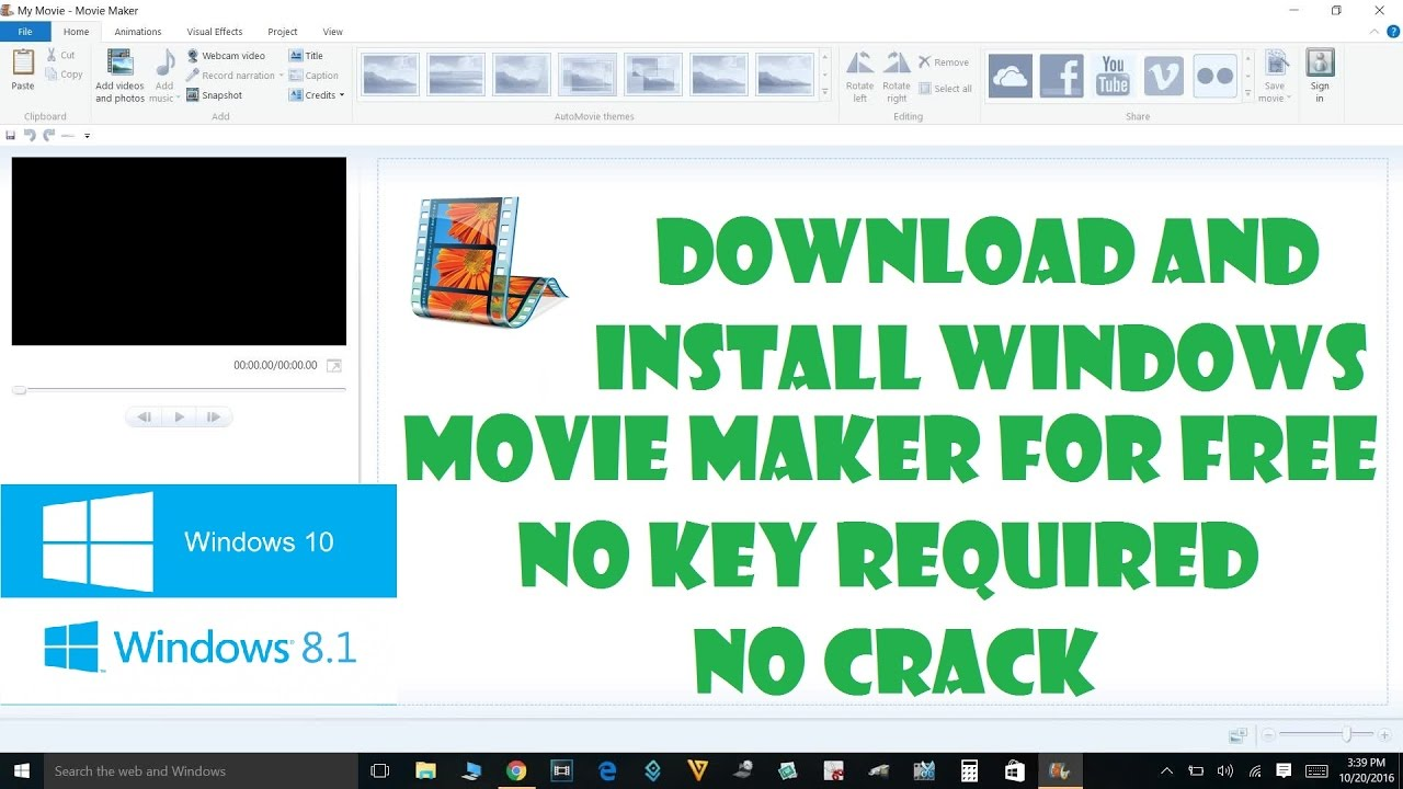 windows movie maker license key and email