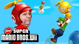 WAIT, I'VE  NEVER PLAYED THIS GAME BEFORE!?? [NEW SUPER MARIO BROS. Wii] [#01]