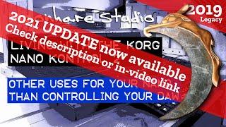 Korg NanoKontrol 2 - Other uses than controlling your DAW