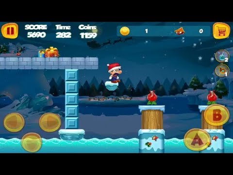 Sboy World Adventure 2 - New Adventures of 2018 - Gameplay Walkthrough Level 8-14 (Android)