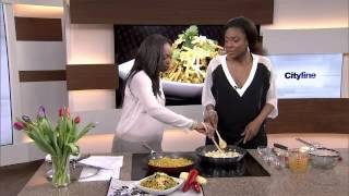 Jully Black Cooks Up A Yummy Jamaican-mexican Quinoa