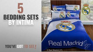 Top 10 Intima Bedding Sets [2018]: Real Madrid Champions Comforter Set Queen