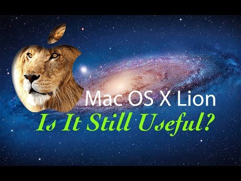 Mac OS X Lion - Is It Still Useful?