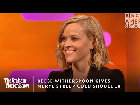 Reese Witherspoon Gives Meryl Streep Cold Shoulder | The Graham Norton Show | Friday | BBC America