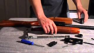 Changing the Stock on a Mossberg 500