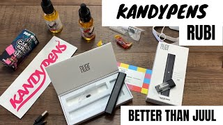 Kandypens RUBI | Real Unboxing | What Salt Nic Juice To Use