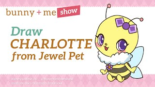 How to draw Charlotte from Jewelpet - Charotte Drawing Tutorial
