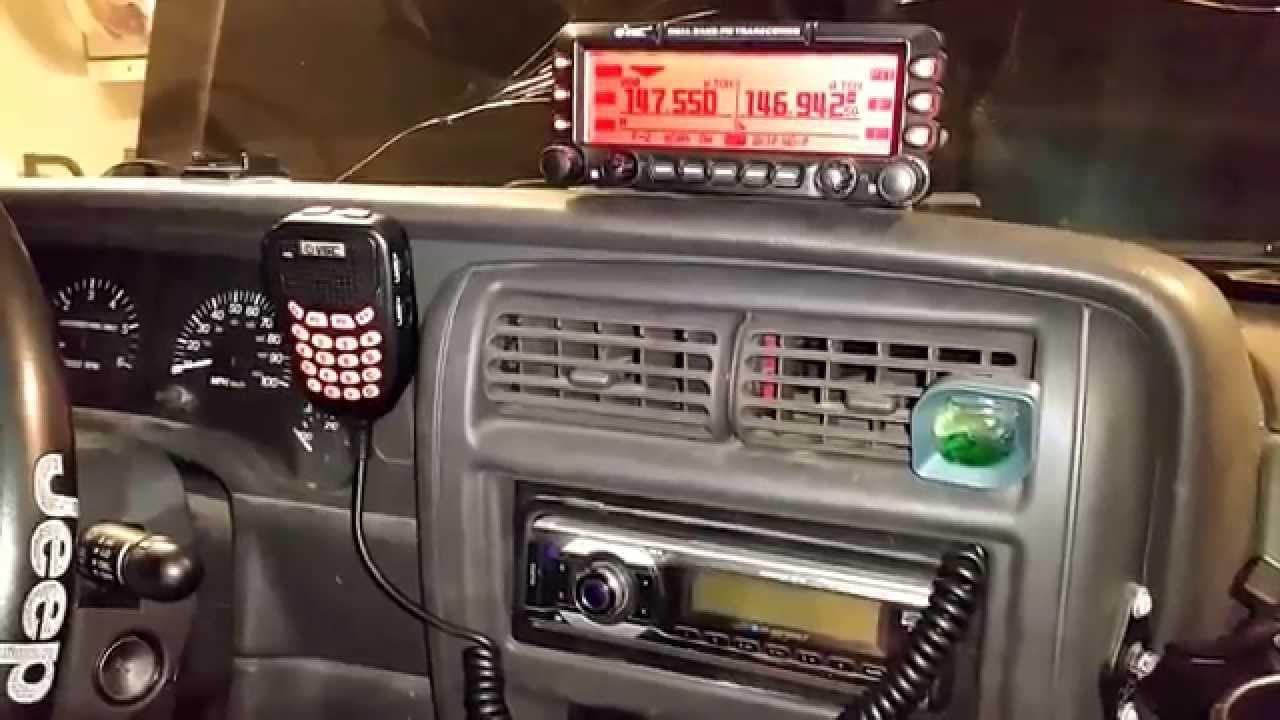 V6 6600pro Ham Radio Installation