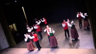 Deju kolektīvu koncert KAM DRAUGI,TAS BAGĀTS, KN ZIEMEĻBLĀZMA (12.01.2014) - 00054
