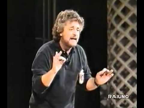 Beppe Grillo - spettacolo in rai [1993] COMPLETO -