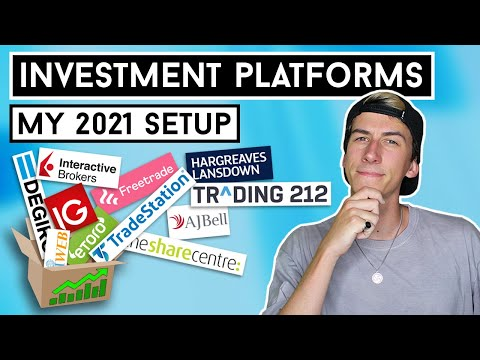 BEST INVESTMENT PLATFORMS IN 2021??? (UK) My Full Investment / Trading Platform Setup!!!