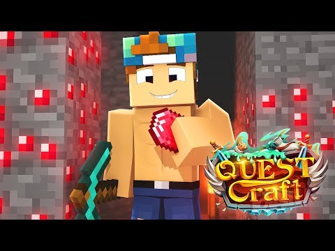 Download Youtube: ADVENTURE FOR RED DIAMONDS!? | QuestCraft #19