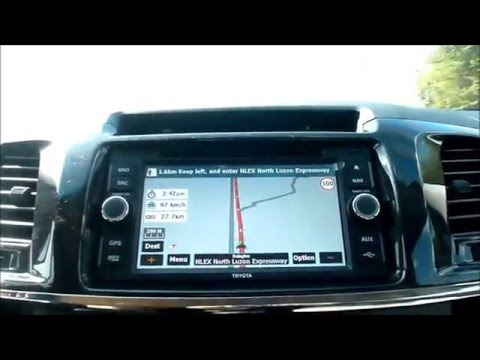 Gps Antenna And Micro Chips Installation Fortuner Toyota