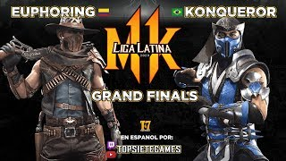 🏆【Mortal Kombat 11】 Konqueror Vs Euphoring - Liga Latina Final - Grand Finals