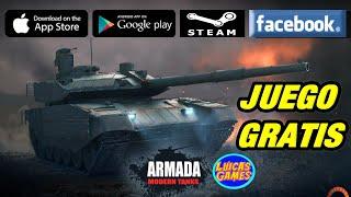 Armada Modern Tanks Juego de Tanques Gratis para Android, IOS y PC en STEAM y FACEBOOK Gameroom