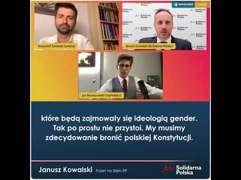 Krzysztof Śmiszek mówi