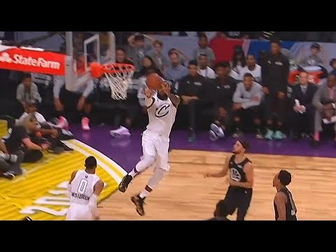 Russell Westbrook Alley-Oops to LeBron James! Team LeBron vs Team Stephen 2018 NBA All-Star Game