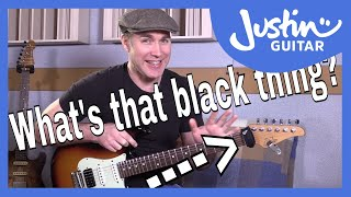 What's That Black Thing On Justin's Headstock? And Why? Gruv Gear Fret Wrap (GG-402)