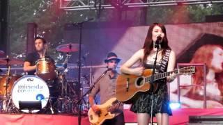 """Miranda Cosgrove - """"Shakespeare"""" - Live (HD) 2011 - Binghamton, NY"""