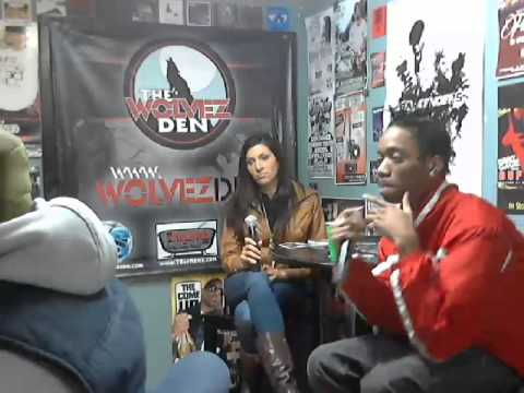 The Martian SMG(Select Music Group) Interview with Chad Money @Substation Studios 2-21-2014