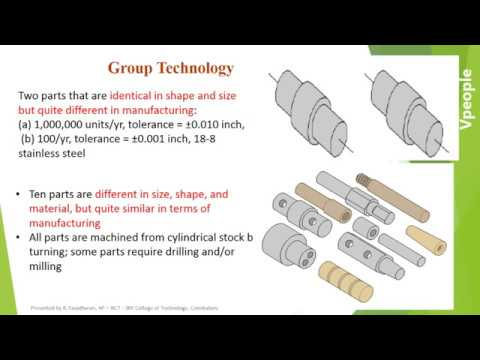 Industrial Automation- Factory Automation- UNIT II GROUP TECHNOLOGY