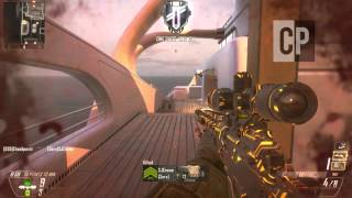 Black Ops 2 - Quickscoping Bots W/Ballista (30/0 Gameplay)