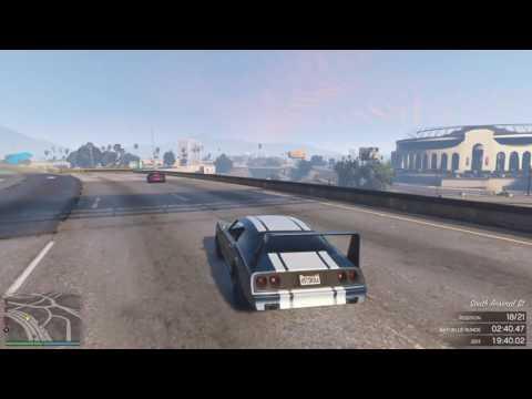 Multi Class Muscles Endurance | Skyline Raceway | GTA Online Racing
