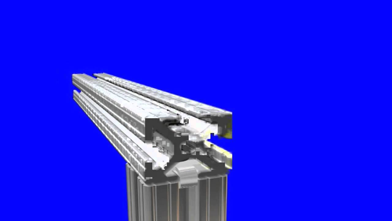 80 20 Inc 3d Depiction Of How To Connect T Slot Profiles