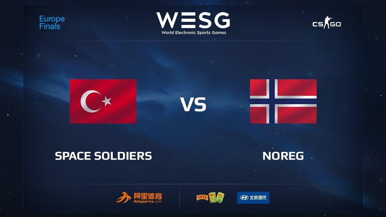Space Soldiers vs NOREG, map 1 cache, WESG 2017 CS:GO European Qualifier Finals