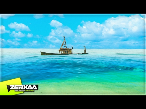WE FOUND A SHIPWRECK! (Stranded Deep #4)